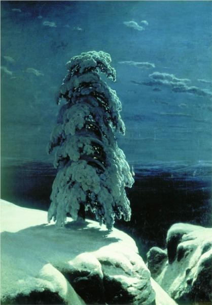 In the Wild North, Ivan Shiskin 1891