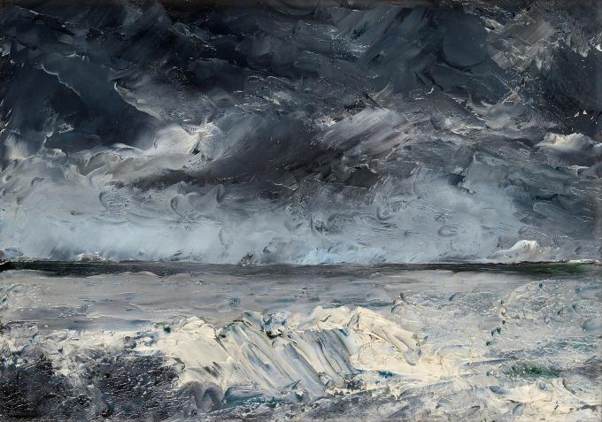 Strindberg Packis i stranden