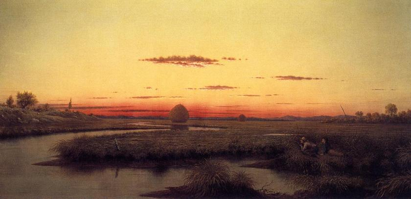 Duck-Hunters-in-a-Twilight-Marsh-1866