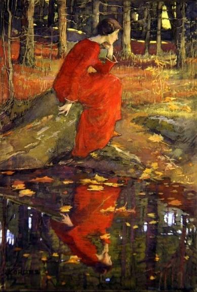 Elizabeth Adela Stanhope Forbes The Leaf 1897-1898