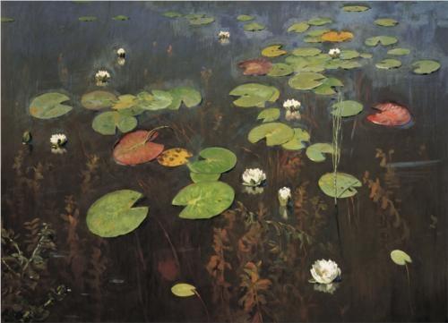 Isaac Levitan Water Lilies 1895