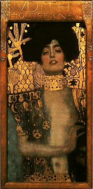 Klimt Judith and Holofernes