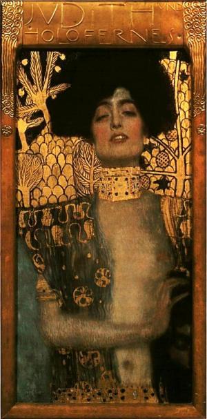 Klimt Judith and Holofernes