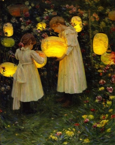 Luther Emerson van Gorder Japanese lanterns