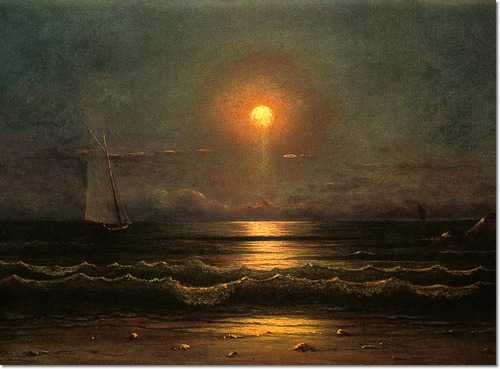 martin-johnson-heade-sailing-by-moonlight-1875