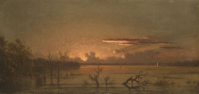 Martin Johnson Heade; Twilight on the St. Johns River