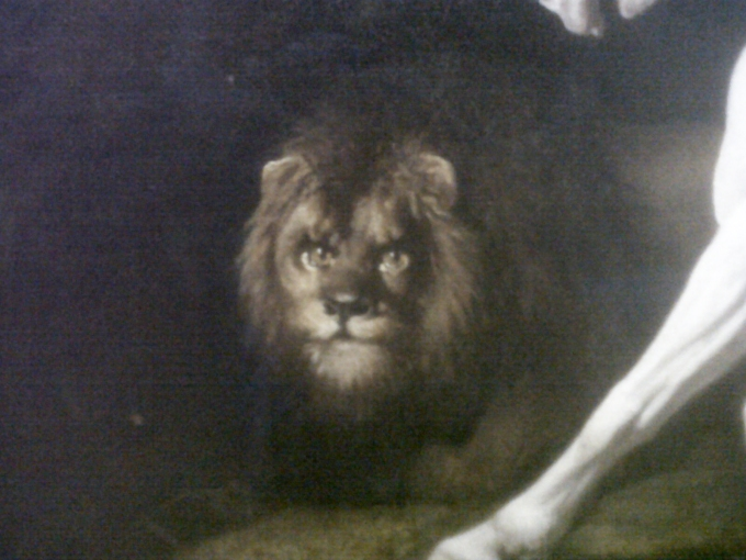 George Stubbs, Human faced lion