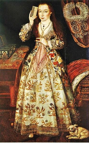 1590 Elizabeth Vernon, Countess of Southhampton