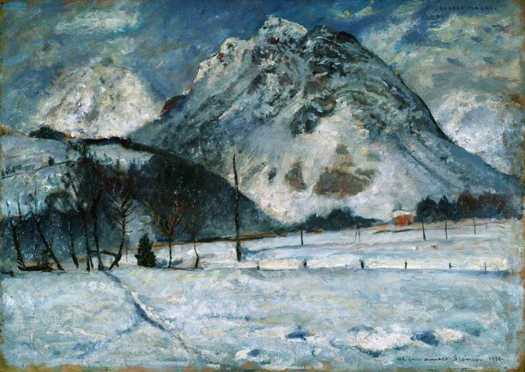 Maggi Cesare, Paesaggio di montagna 1939