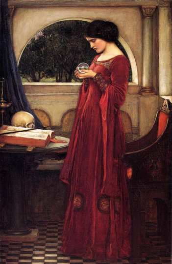 john-william-waterhouse_the-crystal-ball_1902