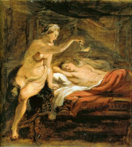 Peter Paul Rubens Amor Psyche