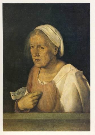 Old Woman c. 1508 - Giorgione