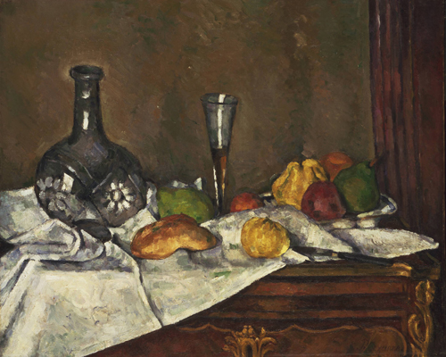 Paul Cézanne, Still Life with a Dessert, 1877 or 1879
