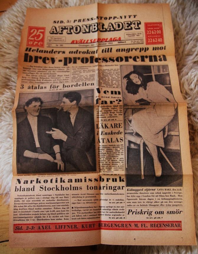 Aftonbladet 1953
