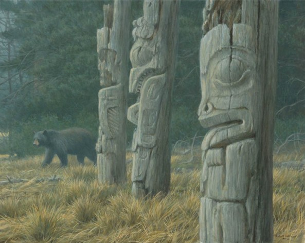 Bateman-robert-Totem-And-Bear
