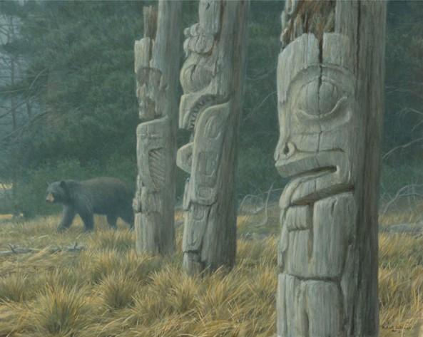 Bateman-robert-Totem-And-Bear