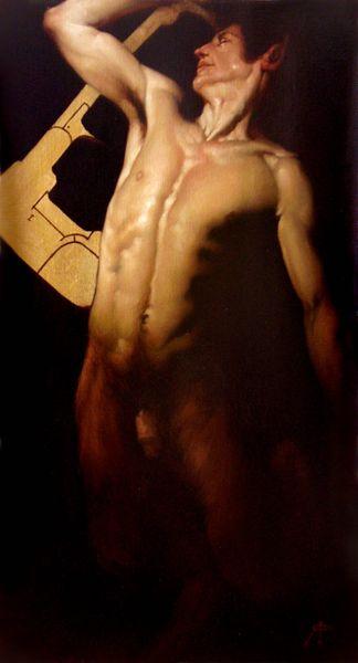 Roberto Ferri - Satiro-danzante (Dancing Satyr)