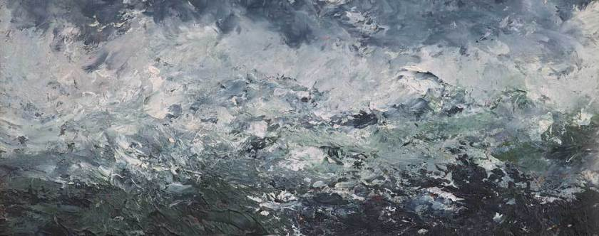 Strindberg stormlandskap (detalj) 1894