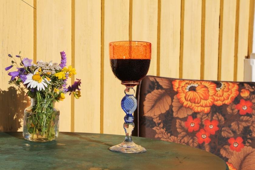 Rödvin balkongen