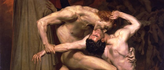 Dante and Virgil (1859) William Bouguereau