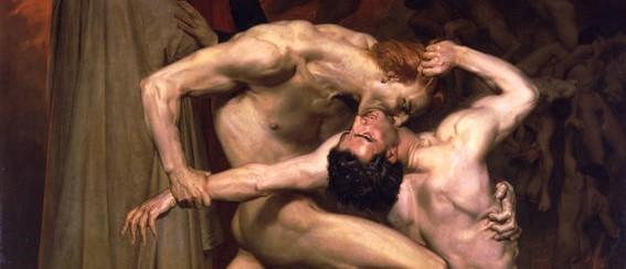 Dante and Virgil (1859) William Bouguereau
